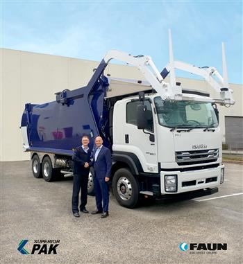 Superior Pak and FAUN join forces for the Australian waste equipment market
