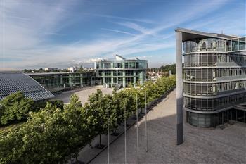 The Audi headquarters, Ingolstadt