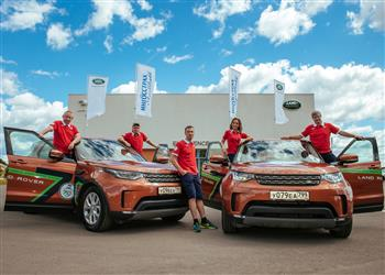 Land Rover Expedition On Target At Halfway Stage