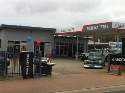 Kumho Launches New Platinum Tyre Store Concept To Moruya