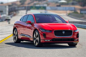 Jaguar I-PACE HSE First Edition at Leguna Seca