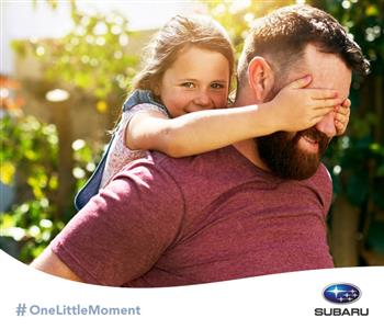 Subaru Launches #OneLittleMoment Social Movement