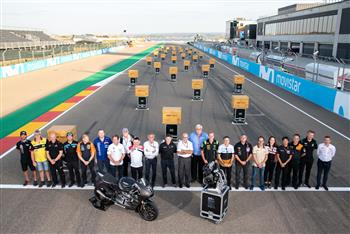 Triumph Moto2TM Engine Handover - Movistar Aragón Grand Prix 2018