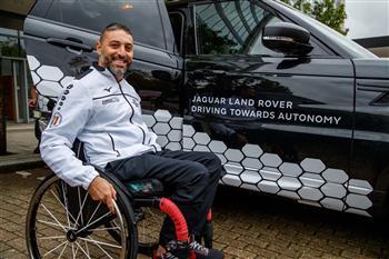 Jaguar Land Rover Gives Invictus Games Competitors A Glimpse Into An Autonomous Future