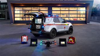 Life-Saving Land Rover Discovery Joins Red Cross Emergency Fleet