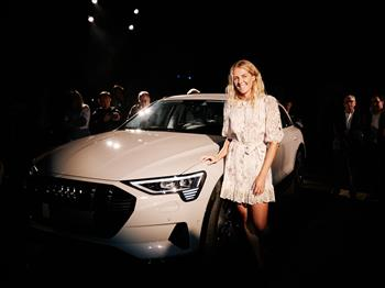 World champion surfer Stephanie Gilmore joins Audi as an e-tron ambassador