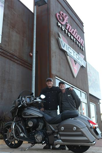Indian Motorcycle Australia supporting Ingenious Oz