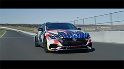 Volkswagen Australia has today unveiled the fruits of its industry-wide collaboration project, dubbed the ART3on: a track-ready customised Arteon Art Car, built by a team of Volkswagen apprentices and mentors from the Australian automotive aftermarket industry.  The car has been built as part of Volkswagen Australia's second-ever Apprentice Build Challenge, which sees a small cohort of high-achieving Volkswagen apprentices selected to take on a unique build designed to test their skills and offer them invaluable industry experience not available in a typical automotive apprenticeship.