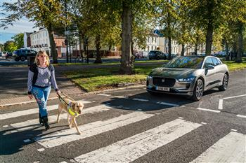 Sound Of Jaguar I-PACE Protects Road Users