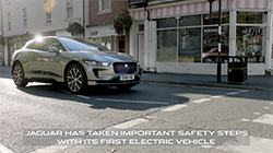With no engine sound, the electric Jaguar I-PACE required a new way to warn blind, visually impaired and other vulnerable road users it approaches at low speed...