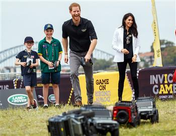 Their Royal Highnesses Present First Medals To Invictus Games Sydney 2018 Competitors