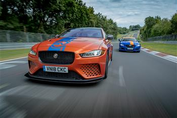 Jaguar XE SV Project 8, The World's Fastest Sedan