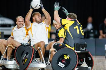 Rugby Legends Star In Wheelchair Exhibition Match At The Invictus Games Sydney 2018
