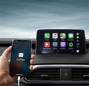 370,000 Mazda Australia customers are now able to upgrade to Apple CarPlay™ and Android Auto™