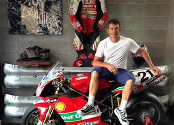 Superbike World Champion Troy Bayliss