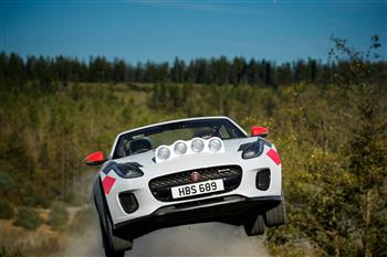 Jaguar F-TYPE Rally Cars Celebrate 70 Years Of Sports Car Heritage