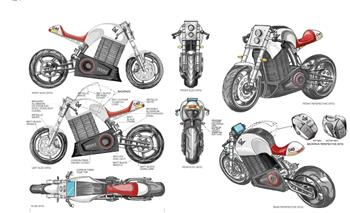 Moto Expo Melbourne to host global unveil of café racer inspired electric motorcycle designed and built in Australia