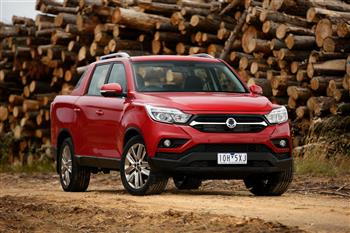 2018 SsangYong Musso dual cab Ute
