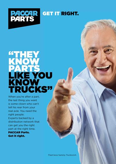 PACCAR Parts' New Brand Campaign Features Footy Fave Sam