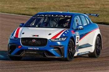 I-PACE eTrophy testing