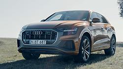 2019 Audi Q8 b-roll.