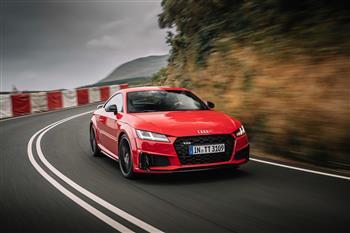 2019 Audi TTS competition