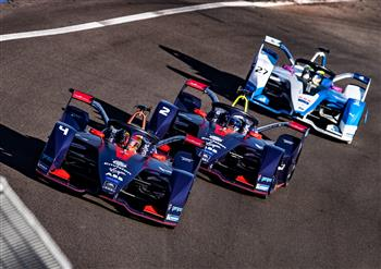 Formula E: double podium result for the Audi e-tron FE05