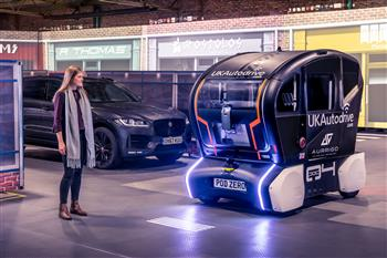 Jaguar Land Rover Lights Up The Road Ahead For Self-Driving Vehicles Of The Future