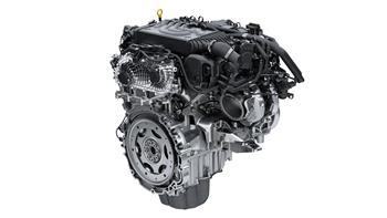 Jaguar Land Rover Ingenium six-cylinder petrol engine.