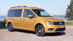 2019 Volkswagen Caddy Beach campervan - B-Roll.