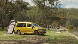 2019 Caddy Beach campervan package.