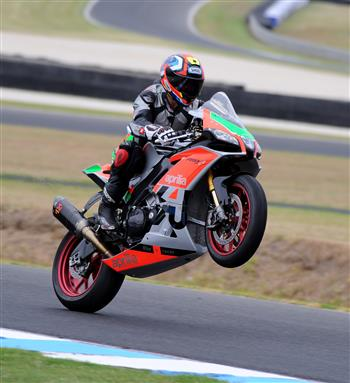 Star coaches announced at Aprilia Racer Day!