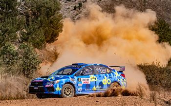 Heat 2 of the 2019 Make Smoking History Forest Rally
