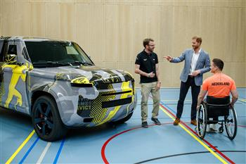 HRH The Duke Of Sussex Starts Countdown To Invictus Games The Hague 2020 Presented By Jaguar Land Rover
