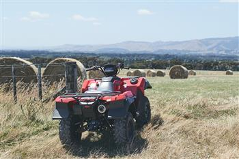Suzuki's Position On Operator Protection Devices For ATVs
