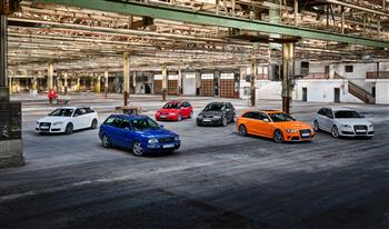 25 years of the Audi RS models