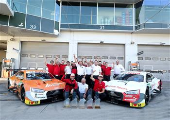 """""""What a year!"""" René Rast DTM Champion ahead of time"""