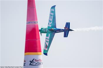 Falken Wins Red Bull Air Race