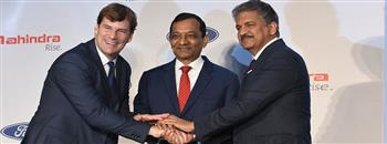 Mahindra and Ford Announce a Joint Venture To Drive Profitable Growth in India and Emerging Markets