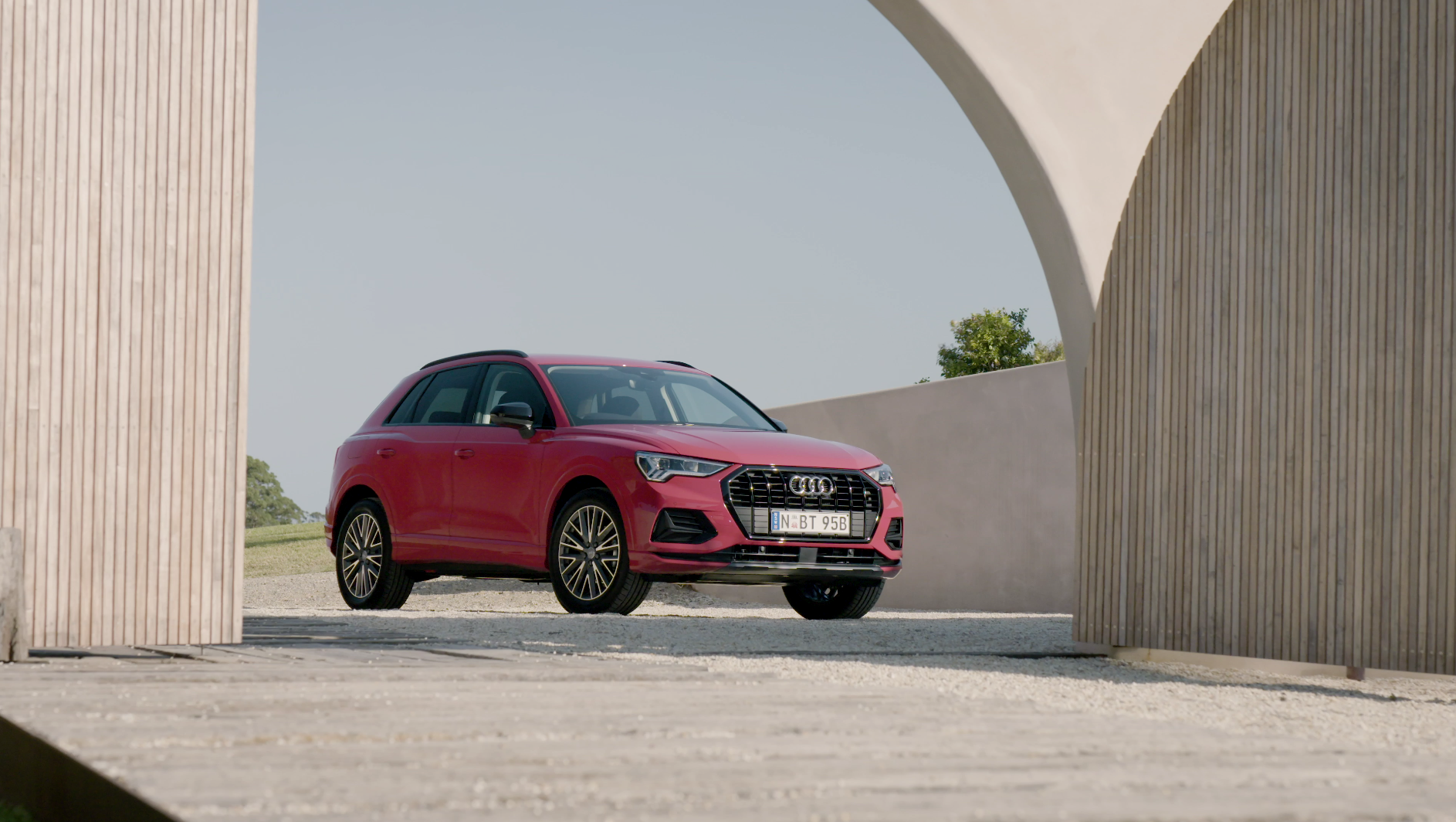 One of the most successful premium compact SUVs is returning in an all-new second-generation: the all-new Audi Q3 has arrived in Australia.