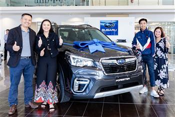 Subaru's 1 Million Reasons To Be Happy