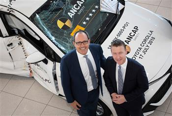Smashed car becomes a key attraction in South Australian new car showroom