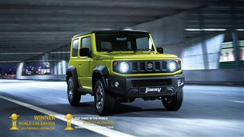Jimny Named World Urban Car Of The Year