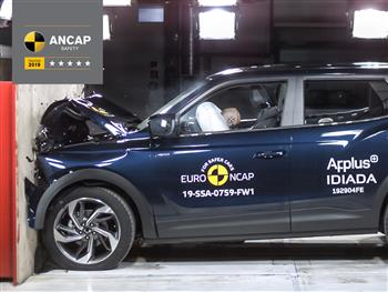 SsangYong Korando - 5 Star ANCAP Safety rating