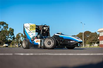 Monash driverless car stars at IDVS4