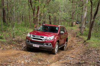 Isuzu UTE's I-Venture Club heading off the beaten track