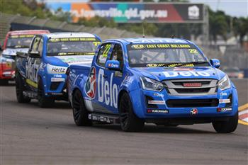 2019 SuperUte Round 4: D-Max Fights For Championship In Townsville