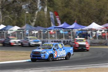2019 SuperUte Round 5: D-Max Maintains Equal-Lead After Disastrous Race In Ipswich