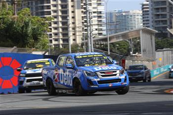 2019 SuperUte Round 7: D-Max Superute Takes Pole And Wins At The GC600