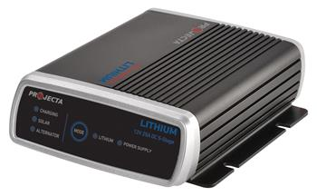 Projecta Grows 'Intelli-Charge' Range with Lithium DC/Solar Battery Charger